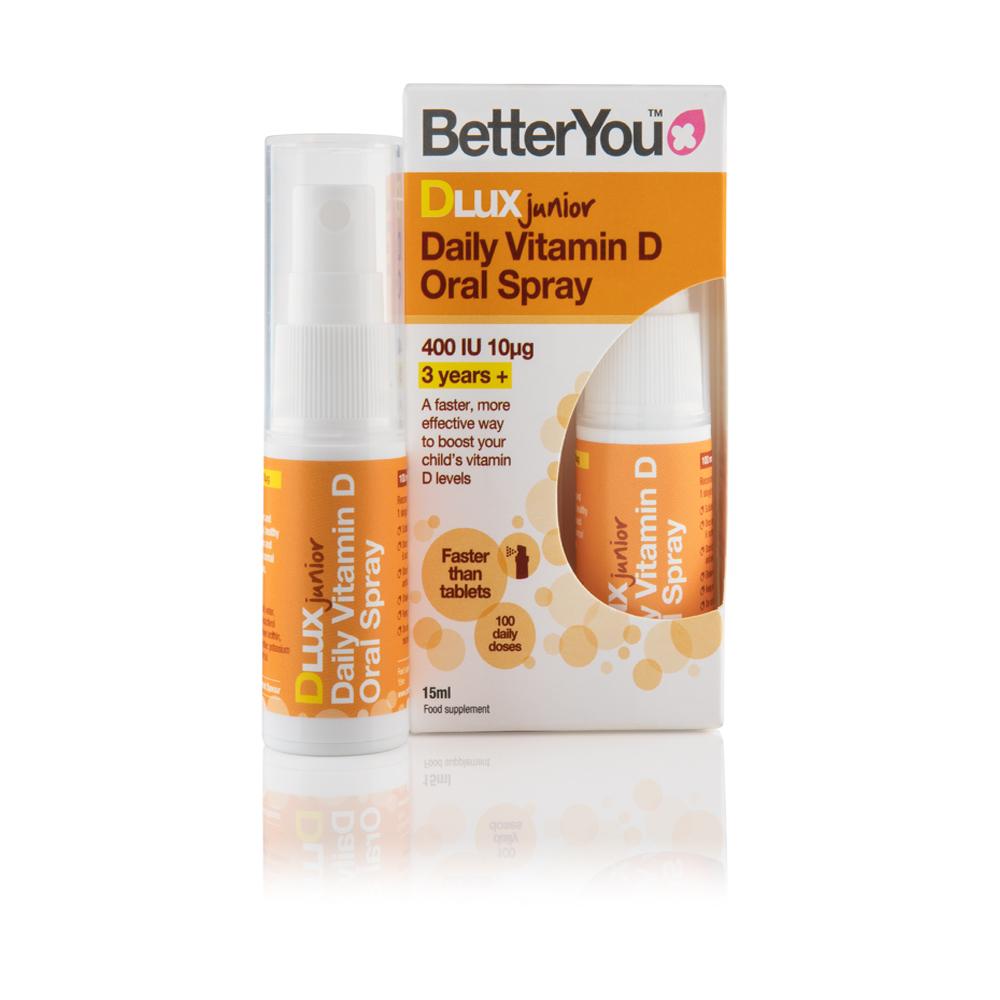 bästsäljare säljs över hela världen Lagra BetterYou DLux Junior Vitamin D Oral Spray
